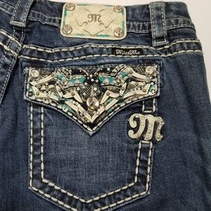Miss Me Womens Bootcut Jeans 33x29
